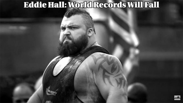 Eddie Hall Records Will Fall